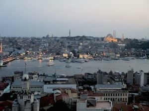 istanbul from Galata tower
