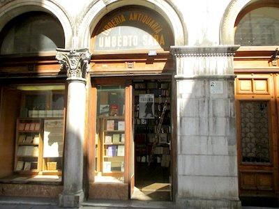 La libreria Antiquaria Saba di Trieste